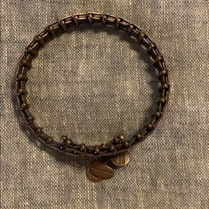 Alex and ani bronze bracelet